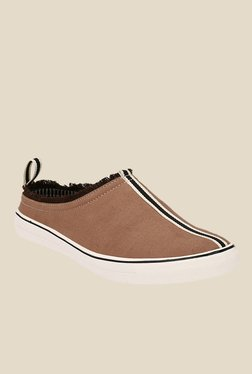 Afrojack Tan Mule Shoes