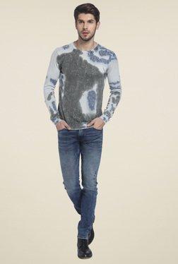 Jack & Jones Light Blue Round Neck Sweatshirt