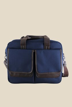 Mohawk Apache One Blue Nylon Unisex Laptop Bag
