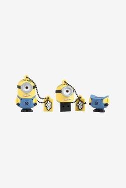 Tribe Minions Stuart 16 GB USB Flash Drive (Yellow/Blue)