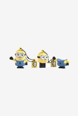 Tribe Minions Dave 16 GB USB Flash Drive (Yellow/Blue)