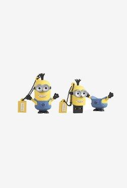 Tribe Minions Kevin 16 GB USB Flash Drive (Yellow/Blue)