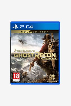 Tom Clancy's Ghost Recon Wildlands Gold Edition Game for PS4