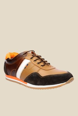 Buckaroo Stacy Light Brown & Black Casual Shoes
