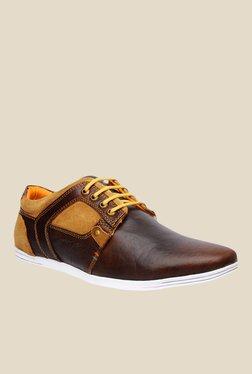 Buckaroo Jayson Dark Brown & Tan Casual Shoes
