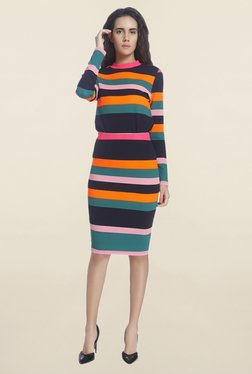 Vero Moda Multicolor Striped Skirt