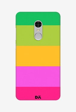 Mindscape Pink Yellow And Green Pattern Case for Redmi Note4