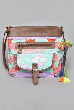 Westside Multicolor Aztec Print Stella Sling Bag