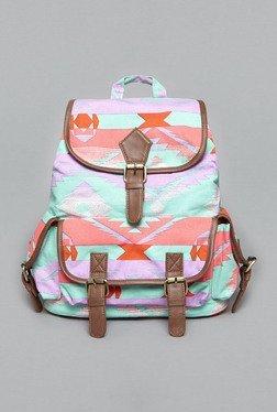 Westside Multicolor Aztec Print Backpack
