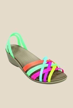42e8356ac785b Crocs Green   Mushroom Casual Sandals