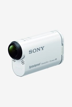 Sony HDR-AS200V Action Camera with Wi-Fi and GPS (White)