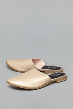 Head Over Heels by Westside Beige Slide Slip On