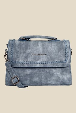 Lino Perros Blue Faded Design Sling Bag
