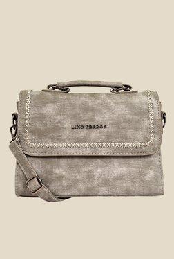 Lino Perros Grey Faded Design Sling Bag