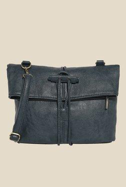 Lino Perros Navy Solid Sling Bag
