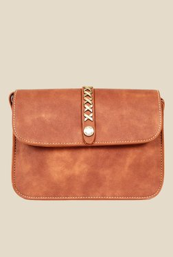 Lino Perros Dark Tan Sling Bag