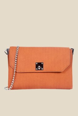 Lino Perros Tan Textured Sling Bag