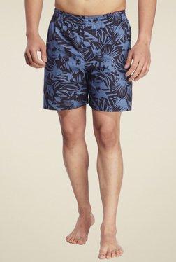 Ennoble Blue Regular Fit Printed Boxers