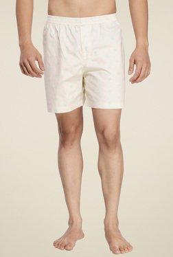 Ennoble Beige Cotton Regular Fit Boxers