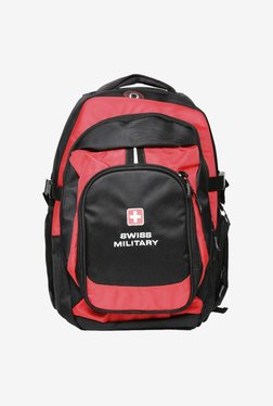 Swiss Military LBP3 25 L Backpack (Red / Black)