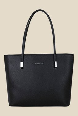 Lino Perros Black Solid Tote Bag - Mp000000001150742