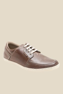 Red Tape Teak Brown Casual Shoes
