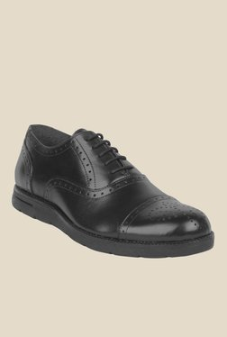 Salt 'n' Pepper Jonnie Black Oxford Shoes