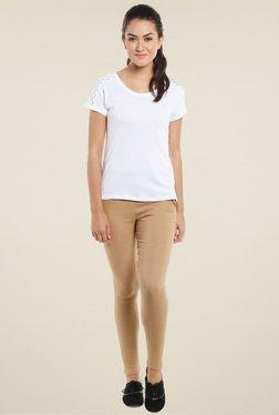 Loco En Cabeza White Short Sleeves T-Shirt