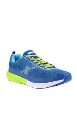 Sparx Royal Blue & Fluorescent Green Training Shoes