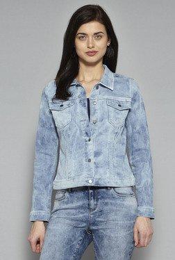 LOV By Westside Light Blue Shia Jacket