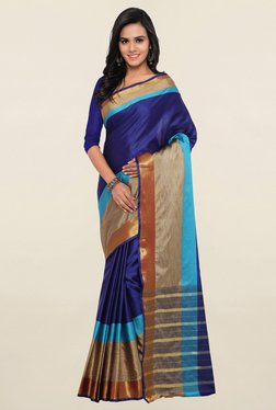 Triveni Purple Art Silk Saree