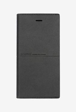Memumi Simple Series Flip Cover for iPhone 6S (Black)
