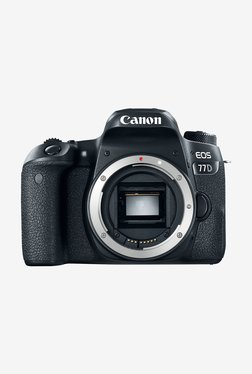 Canon EOS 77D DSLR Camera Body Only (Black)
