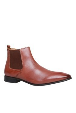 Hush Puppies New Fred Brown Chelsea Boots