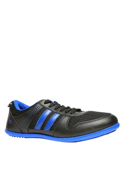 North Star By Bata Anmol New Black & Blue Sneakers