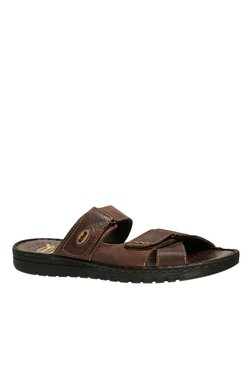 Scholl Sung Brown Casual Sandals