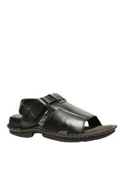Hush Puppies New Decent Black Back Strap Sandals