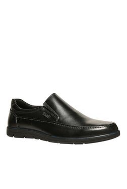 Scholl Roger Black Formal Slip-Ons
