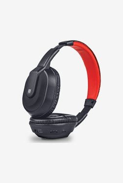 iball MusiTap Over the Ear Headphone (Black)