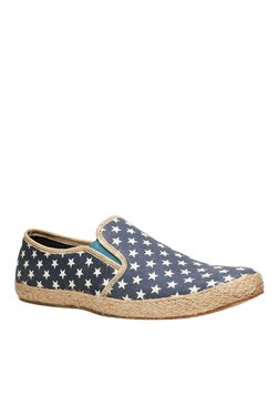 North Star By Bata Drogo Purple White Casual Slip Ons