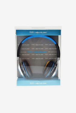Itek Dynabass Headset with Mic (Blue)