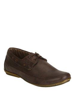 BCK By Buckaroo Neron Dark Brown Boat Shoes