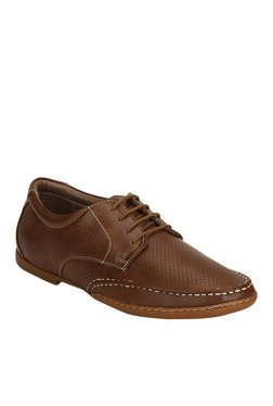 BCK By Buckaroo Toro Brown Derby Shoes