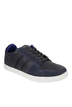 Numero Uno Dark Grey & Black Sneakers