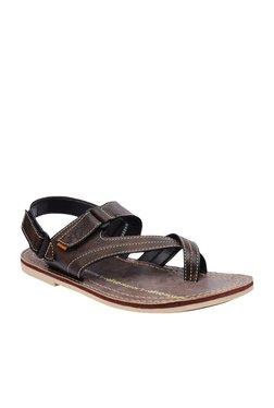 BCK By Buckaroo Rios Dark Brown Back Strap Sandals