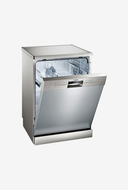 Siemens SN26L801IN 12 Place Settings Dishwasher (Silver)