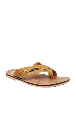 BCK By Buckaroo Vega Light Tan Toe Ring Sandals