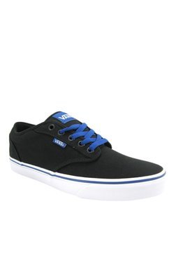 Vans Active Atwood Black & Blue Sneakers