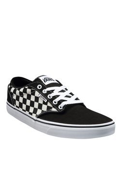 Vans Active Atwood Black & Natural White Sneakers