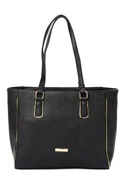 Addons Black Solid Shoulder Bag
